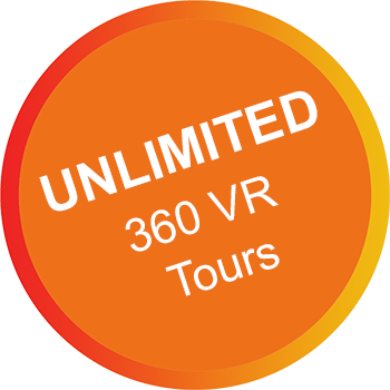 unlimited 360 VR tours